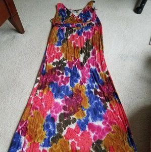 Women's size XL Daisy Fuentes Maxi Dress
